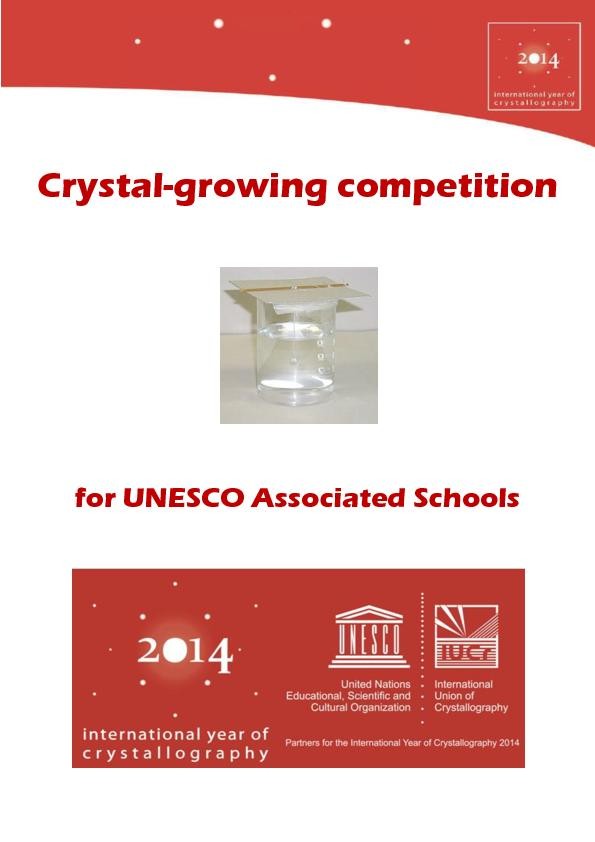 Crystal growing competition