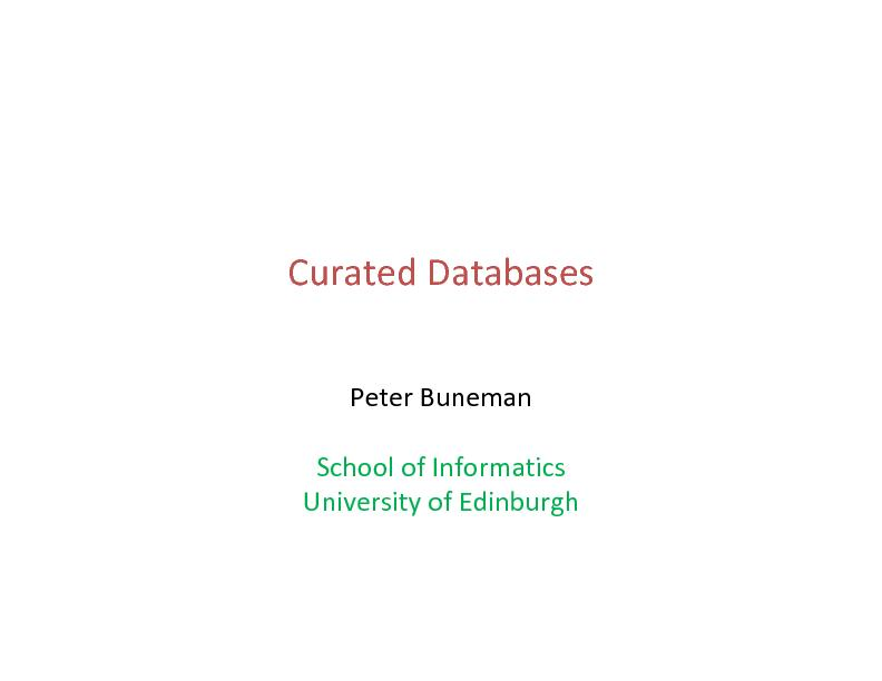 School of informatics university of edinburgh PowerPoint PPT Presentation