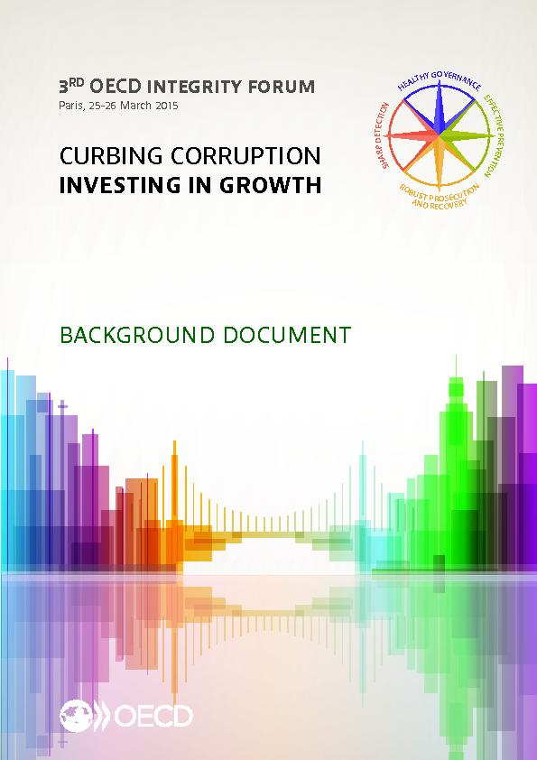 Curbing corruption investing in growth