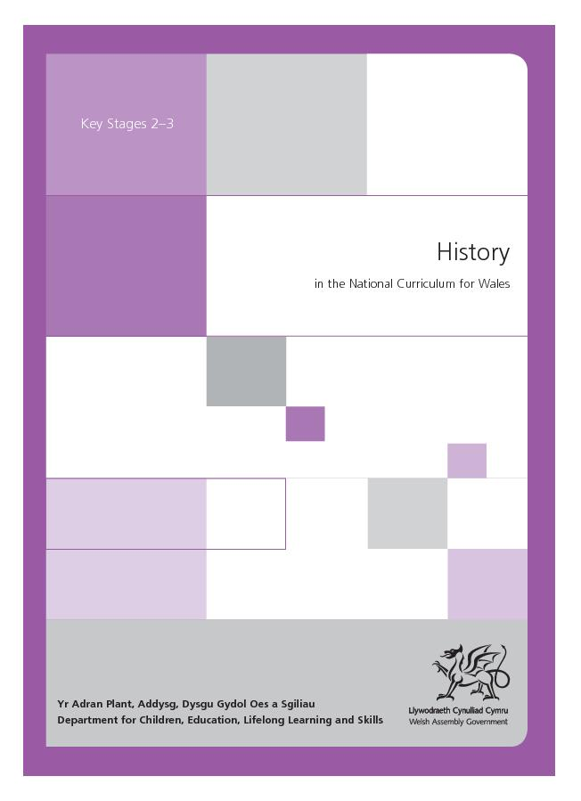 History in the national curriculum for wales