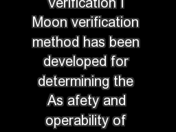 Modeling Programmable Logic Controllers for Logic Verification I Moon verification method has been developed for determining the As afety and operability of programmable logic controller PLC based sy
