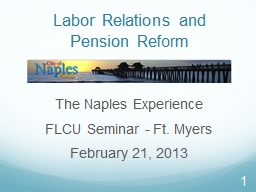 1 Labor Relations and