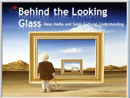 Mass Media and Socio-Cultural Understanding PowerPoint PPT Presentation