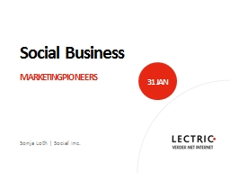 Social Business PowerPoint PPT Presentation