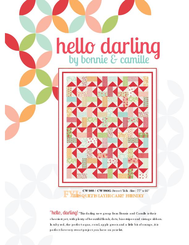 Hello darling by bonnie and camille