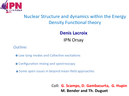 Nuclear Structure and dynamics within the Energy Density Fu