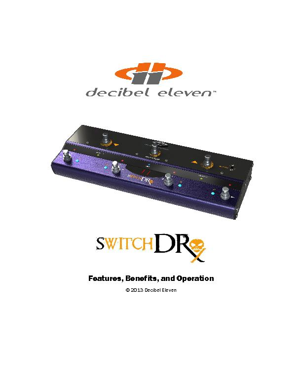 Switch Dr features benefits and operation PowerPoint PPT Presentation