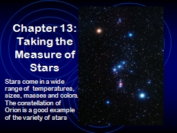 Chapter 13: Taking the Measure of Stars