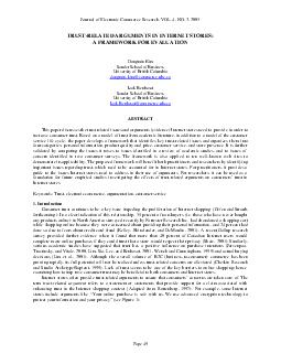 Journal of Electronic Commerce Research VOL