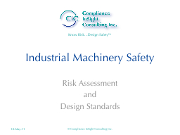 Industrial Machinery Safety PowerPoint PPT Presentation
