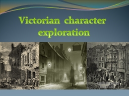 Victorian character