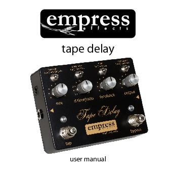 empress effects  tape delay PowerPoint PPT Presentation