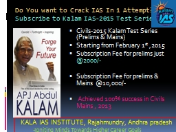 Do You want to Crack IAS In 1 Attempt?