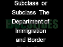 Page of nformation for your Permanent Partner Visa Application Subclass  or Subclass  The Department of Immigration and Border Protection DIBP requires additional information or documents that cover