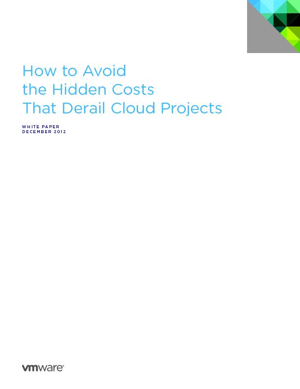 How to Avoid the Hidden Costs That Derail Cloud Projects