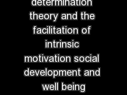 developing intrinsic motivation Intrinsic motivation counseling services believes that developing a strong and safe relationship is an important part of counseling.