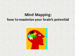 Mind Mapping: PowerPoint PPT Presentation