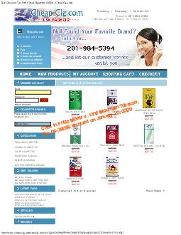 Buy Discount Tax Free Cheap Cigarettes Online  CheapCig