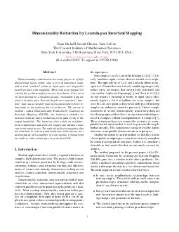 Dimensionality Reduction by Learning an Invariant Mapping