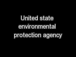 United state environmental protection agency PDF document - DocSlides