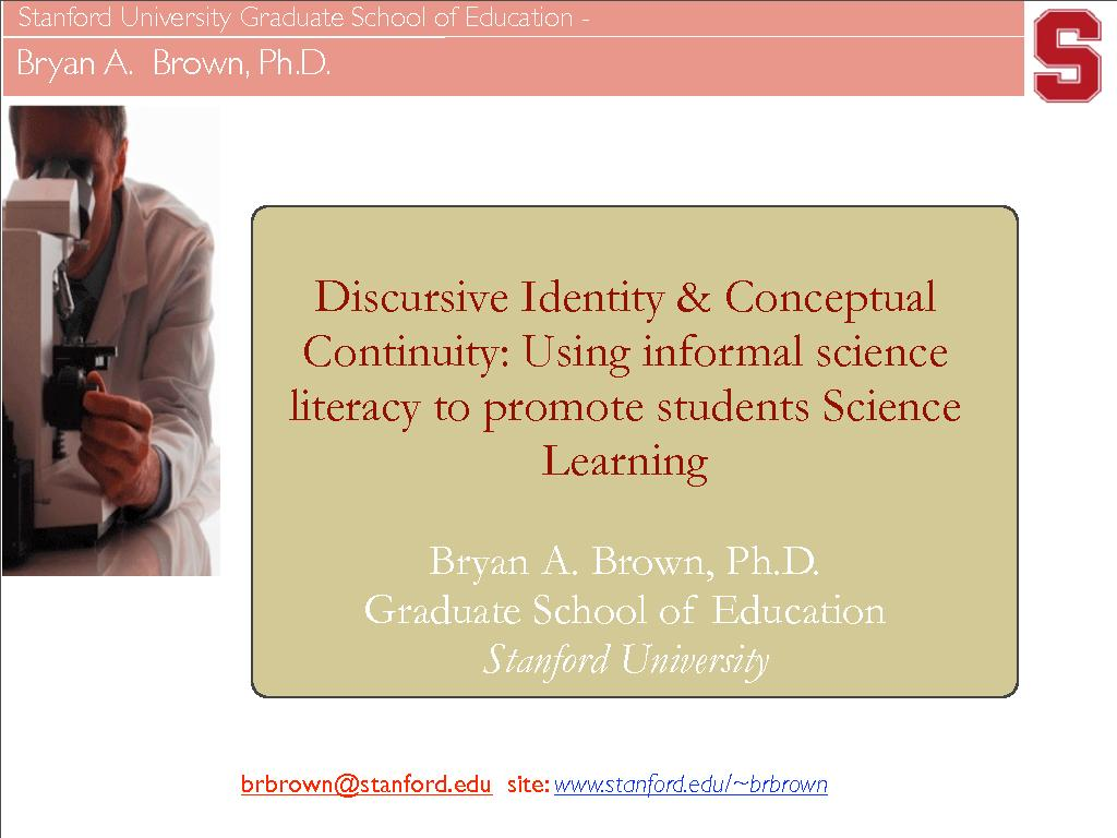using informal science literacy to promote students science learning