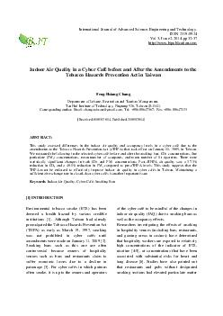 International Journal of Advanced Science Engineering and Technology