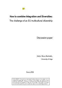 How to combine integration and diversities