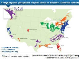 A mega-regional perspective on print books in Southern Cali