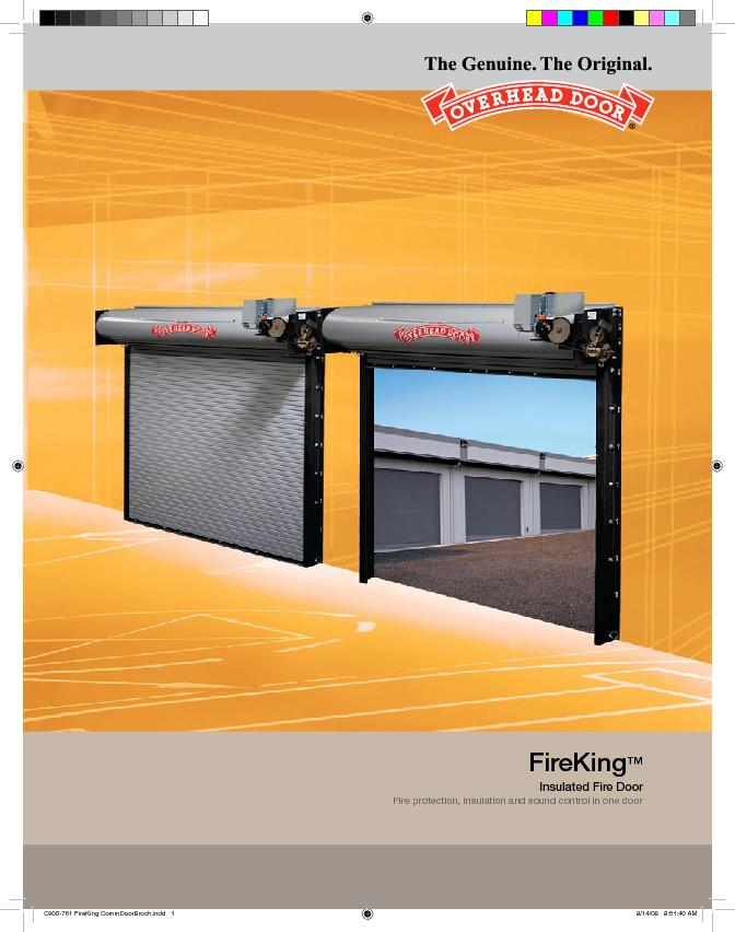 Fire protection. Energy-efciency. Sound control.The FireKing Insulate