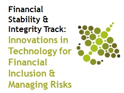 Financial Stability & Integrity Track: