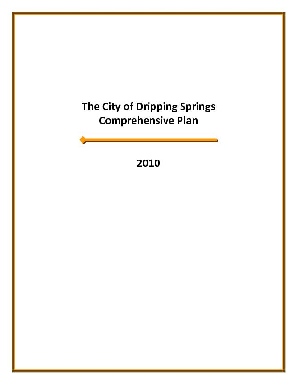 The City of Dripping Springs