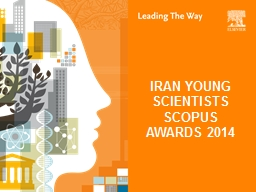 IRAN YOUNG SCIENTISTS