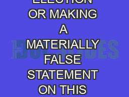 BOARD STATE ELECTIONS WARNING INTENTIONALLY VOTING MORE THAN ONCE IN AN ELECTION OR MAKING A MATERIALLY FALSE STATEMENT ON THIS FORM CONSTITUTES THE CRIME OF ELECTION FRAUD WHICH IS PUNISHABLE UNDER