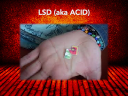 LSD (aka ACID) PowerPoint PPT Presentation