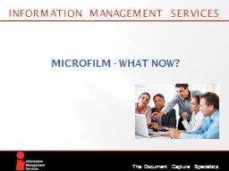 Information Management Services