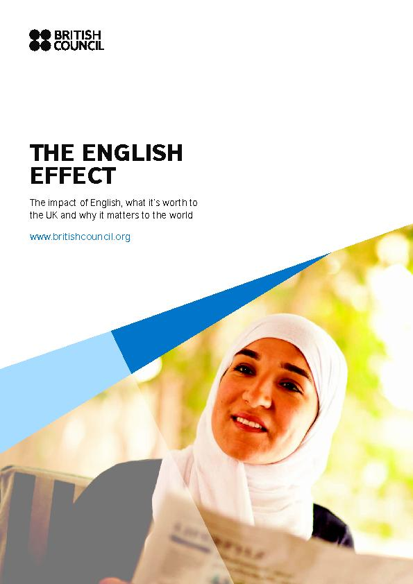 EFFECTThe impact of English, what it's worth to the UK and why it