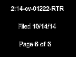 Case 2:14-cv-01222-RTR   Filed 10/14/14   Page 6 of 6   Document 20 ..