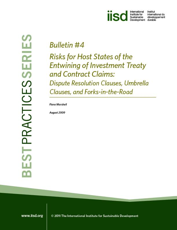Risks for Host States of the