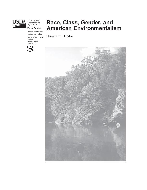 race gender class and environmentalism Feminism and race in the united states  mainstream feminist thought continues to grapple with the interrelations between gender and race, as well as class,.