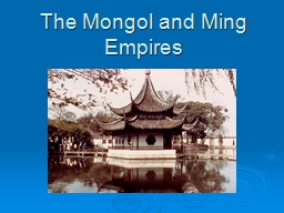 mongol empire and doc The mongol empire date: _____pd___ a map activity mapping the mongol empire - on the map below, draw the borders of the mongolian empire.