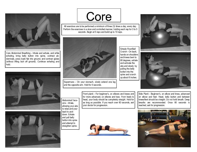 Core Abdominal Breathing