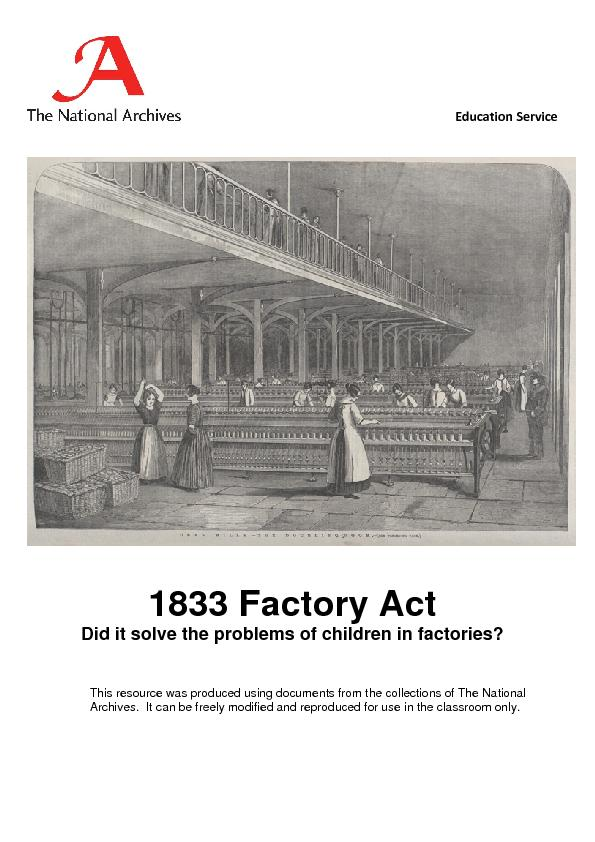 factory act