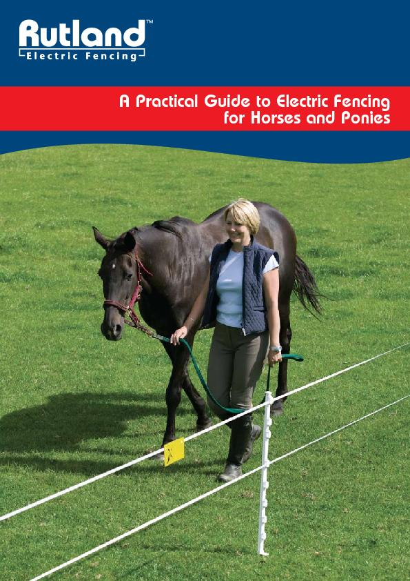 A Practical Guide to Electric Fencing  for Horses and Ponies PowerPoint PPT Presentation