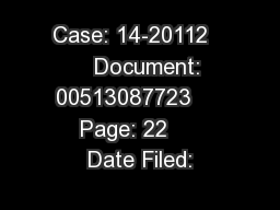 Case: 14-20112      Document: 00513087723     Page: 22     Date Filed: