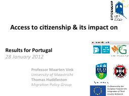 Access to citizenship & its impact on
