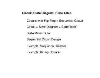 Circuits with Flip-Flop = Sequential Circuit PowerPoint PPT Presentation