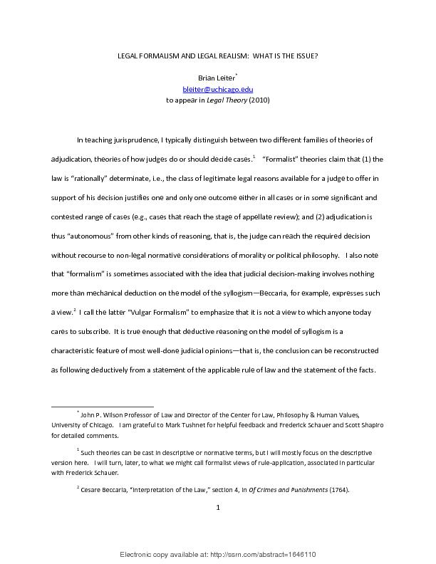 Electronic copy available at: http://ssrn.com/abstract=1646110