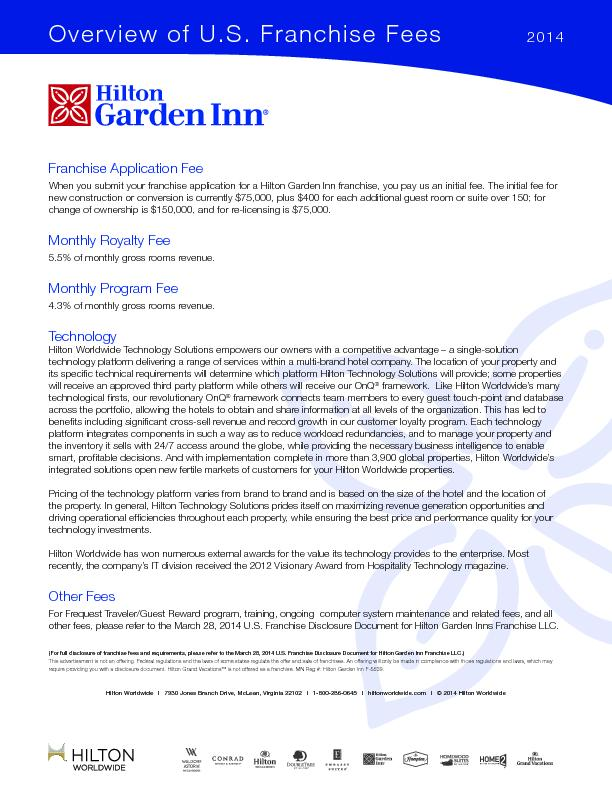 You Submit Your Franchise Application For A Hilton Garden Inn Franchis Pdf Document Docslides