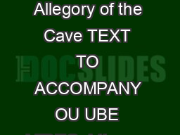 allegory of the cave essay plato allegory of the cave essay