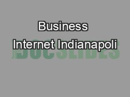 Business Internet Indianapoli